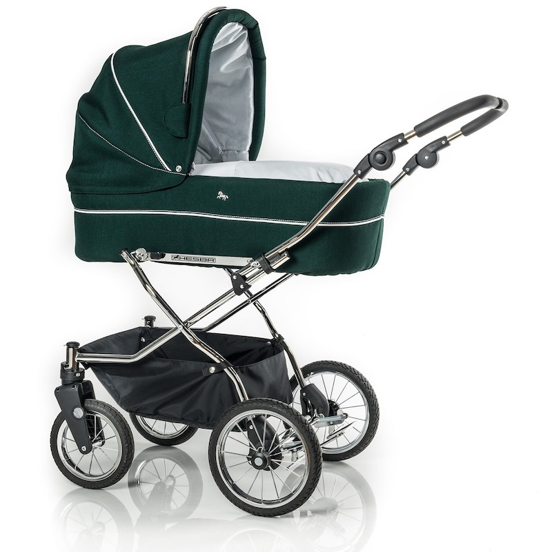 Hesba_Kinderwagen Classica mit schwenkbaren Rädern